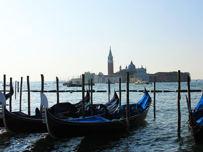 San Giorgio Island and its treasures
