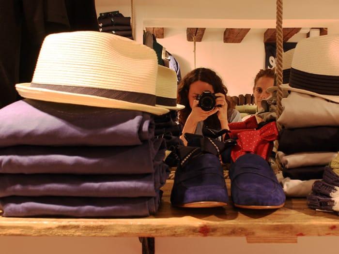 Shopping in calle Frezzaria