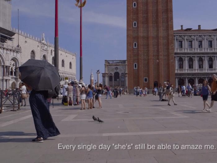 Venice: a love story.