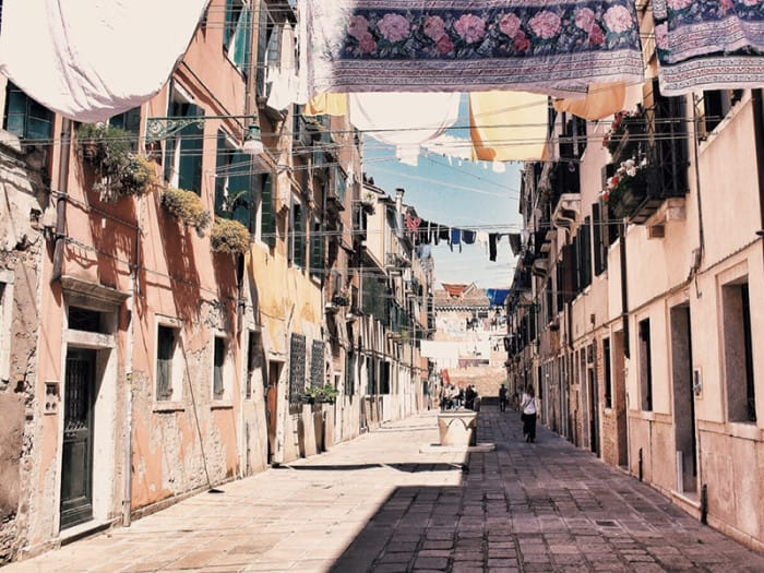 The washing lines of Venice