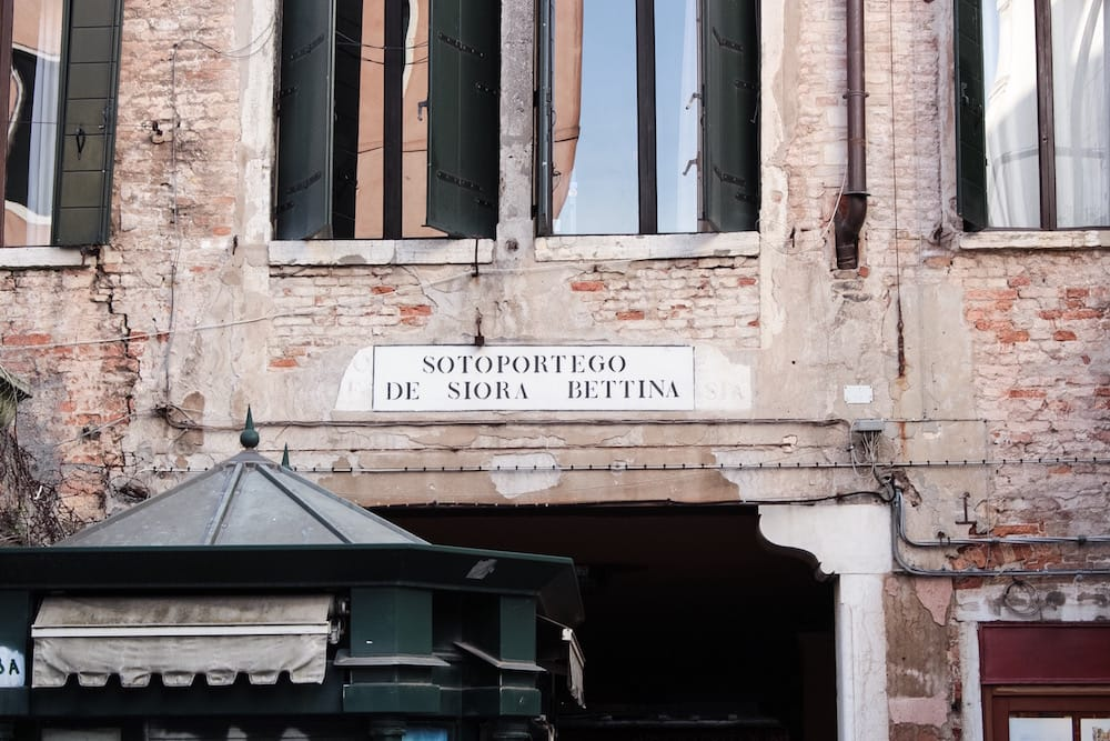 Sotoportego