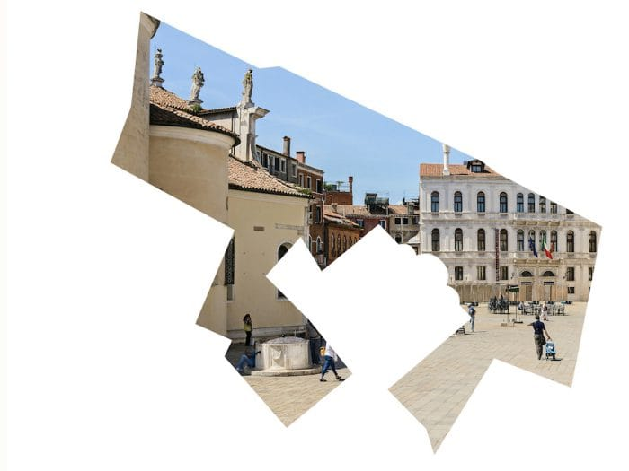 Melissa McGill New Art Project The Campi debut in Venice