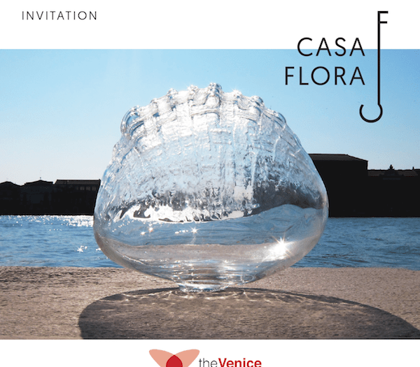 The Venice Glass Week at Casa Flora