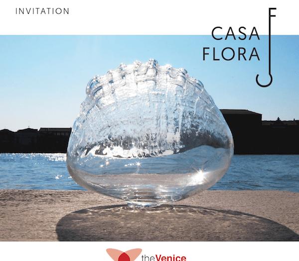 Venice Glass Week a Casa Flora