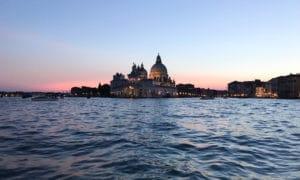 La Salute sunset